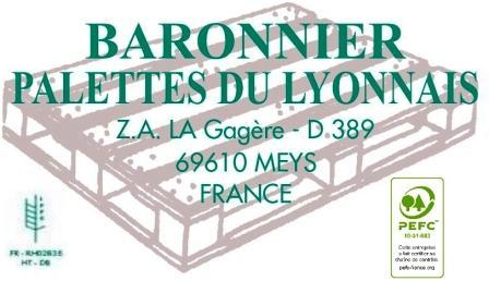 BARONNIER Palettes du Lyonnais