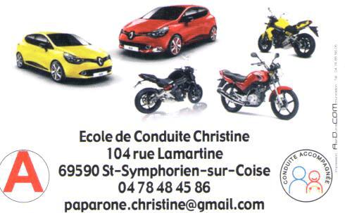 ECOLE DE CONDUITE CHRISTINE